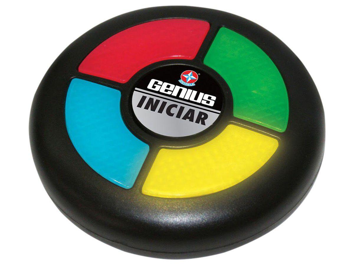 Jogo Para Viagem Genius Eletrônico - Estrela