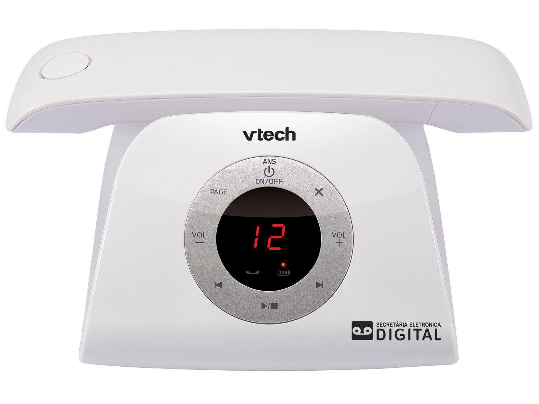 Telefone sem fio VTech Retro Phone W - Identificador de Chamada Viva Voz Branco