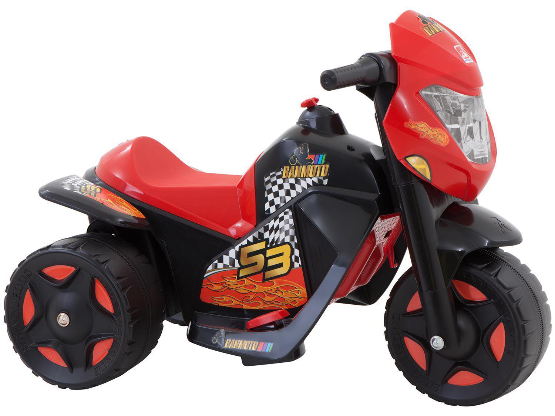 Moto Elétrica Infantil Ban 2 Marchas 6V - Bandeirante