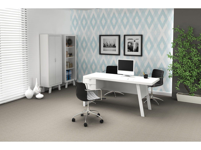 Mesa para Escritório Móveis Videira - Tecno Mobili ME4122 2 Gavetas