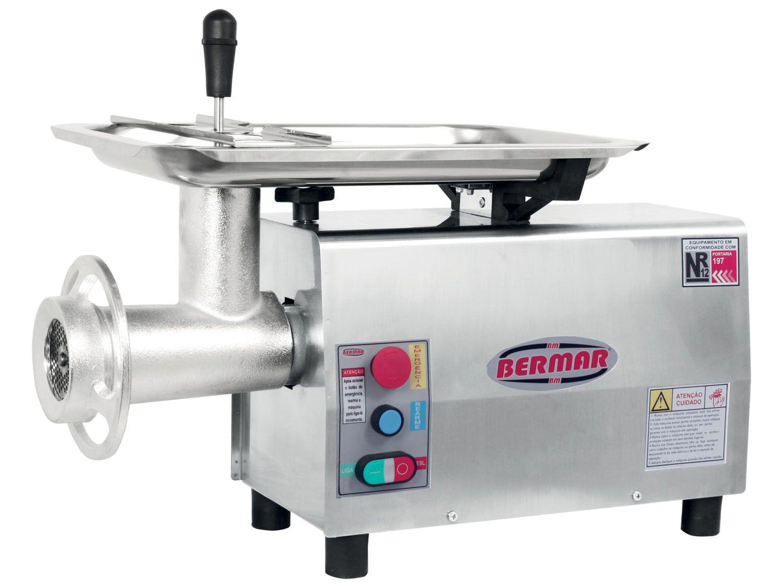 Picador de Carne Inox BM 13 NR PF - Bermar