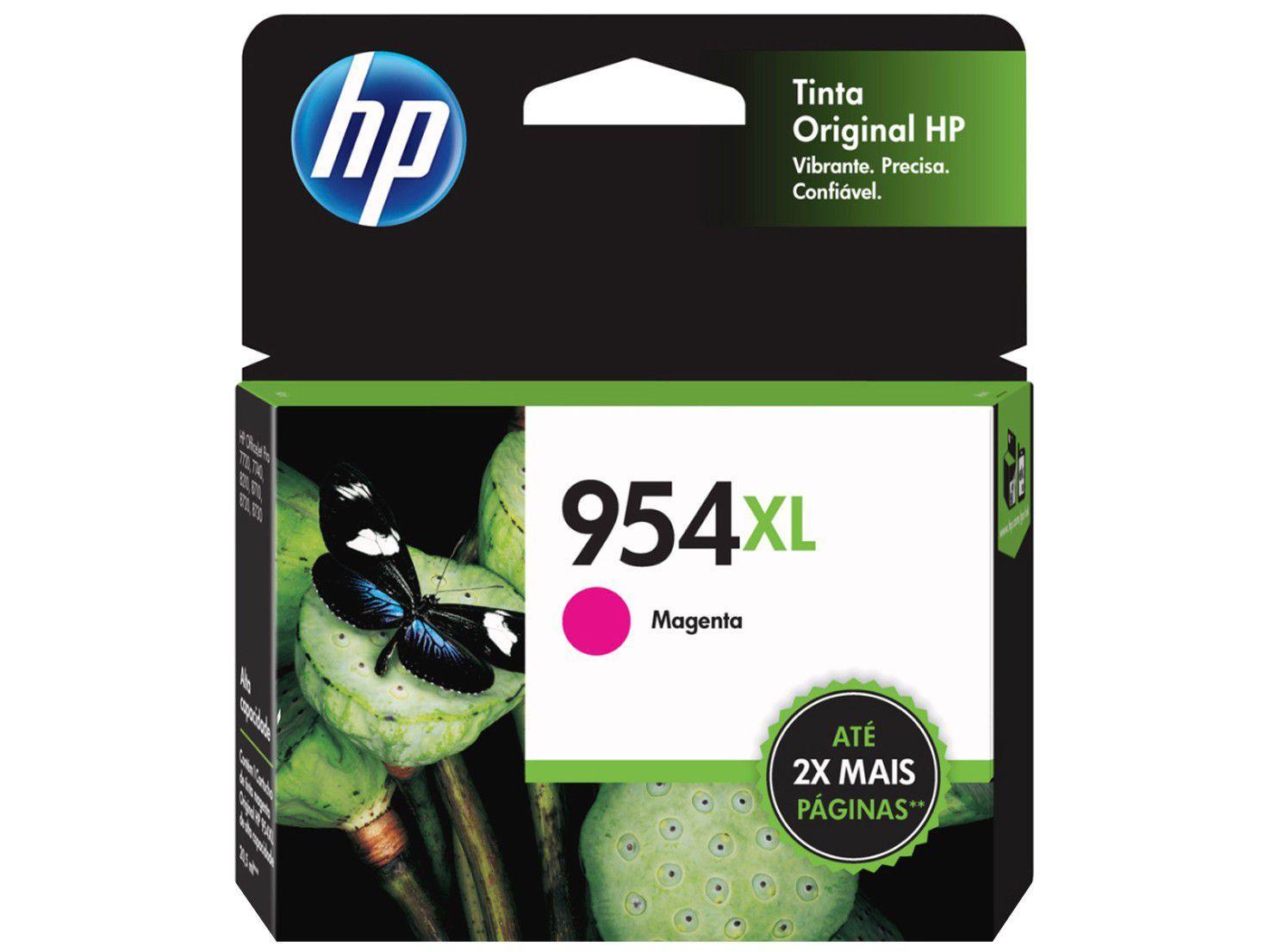 Cartucho de Tinta HP 954 XL Magenta - Original