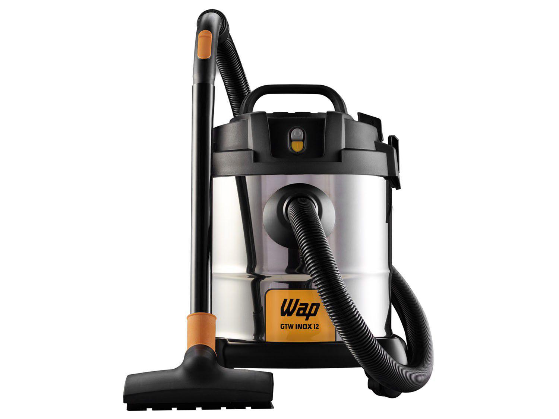 Aspirador de Pó e Água Wap 1400W - GTW 12 Preto e Prata