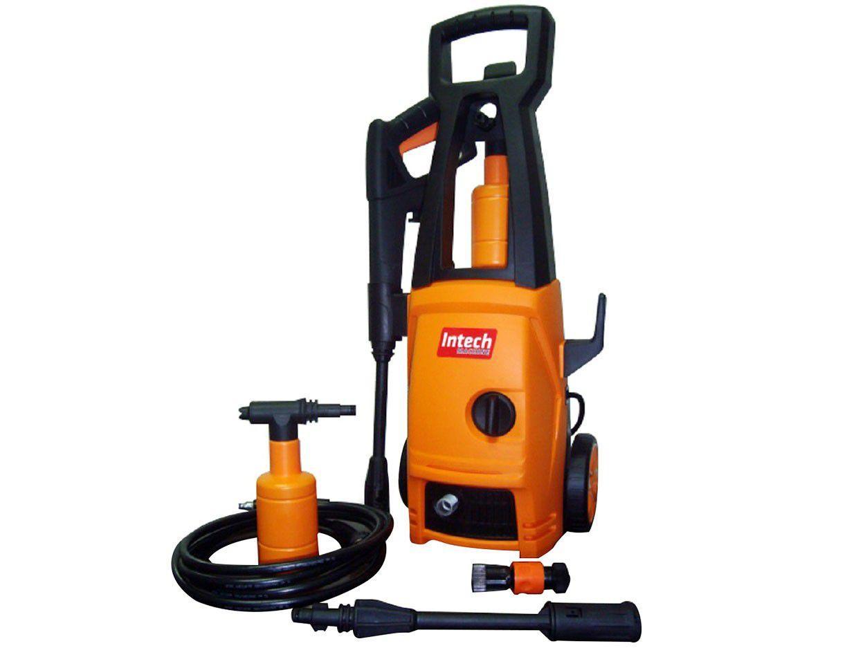Lavadora de Alta Pressão Intech Machine Acqua 1400 - 1450 Libras Mangueira 3m Desligamento Automático