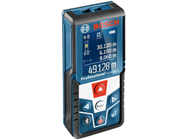 Trena a Laser Bosch 50m GLM 50 C Professional - com Nível