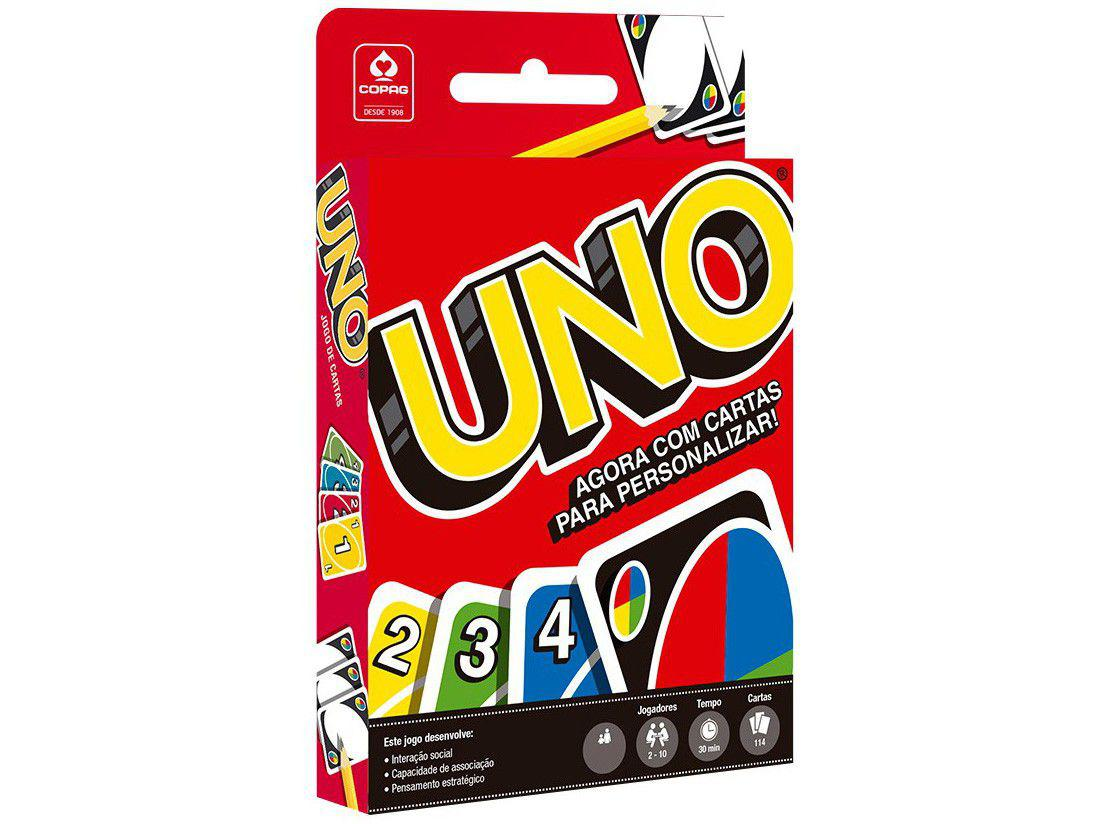 Jogo Uno Copag - 114 Cartas