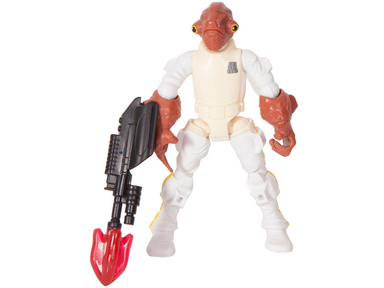 Boneco Admiral Akbar Star Wars Hero Mashers - com Acessórios - Hasbro