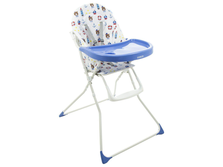 Cadeira de Alimentação Cosco Banquet Marinheiro - para Crianças até 23kg