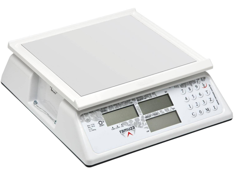 Balança Industrial Digital Ramuza - 1054 DCRCL 15 Até Kg