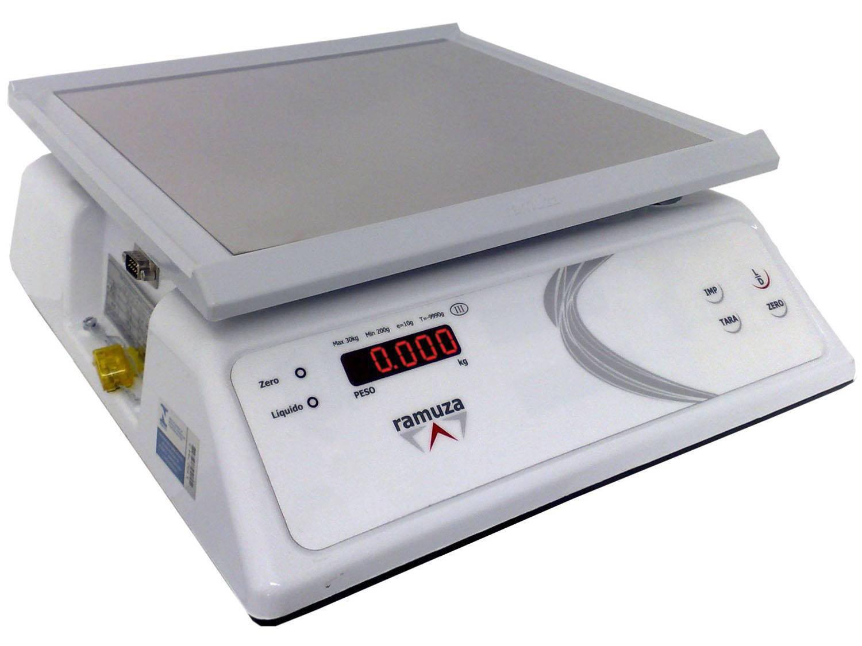 Balança Industrial Digital Ramuza - 1025 DPR 15 Até 15Kg