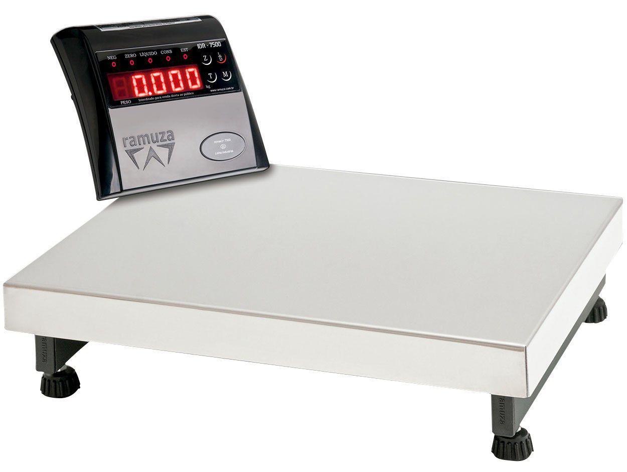 Balança Comercial/ Industrial Digital Ramuza - DP 100 100kg