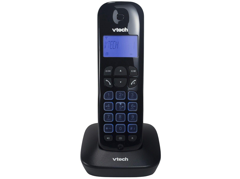 Telefone sem Fio VTech VT685-SE - Identificador de Chamada Viva Voz Preto