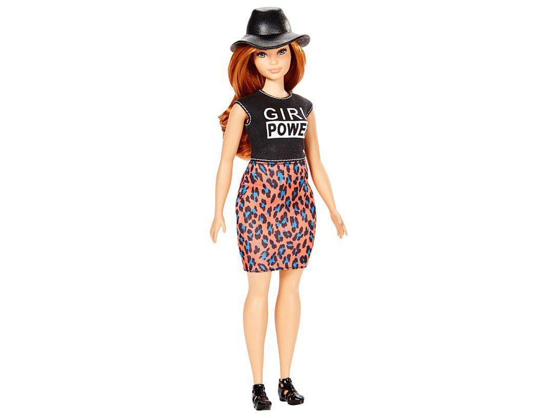Barbie Fashionistas Girl Power Dress - com Acessórios Mattel