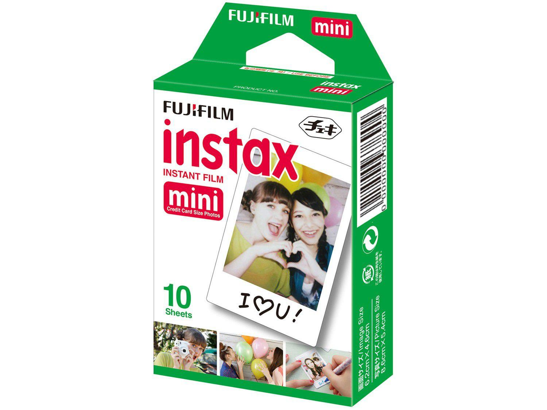 Filme Instantâneo Fujifilm Instax Mini - com 10 Poses