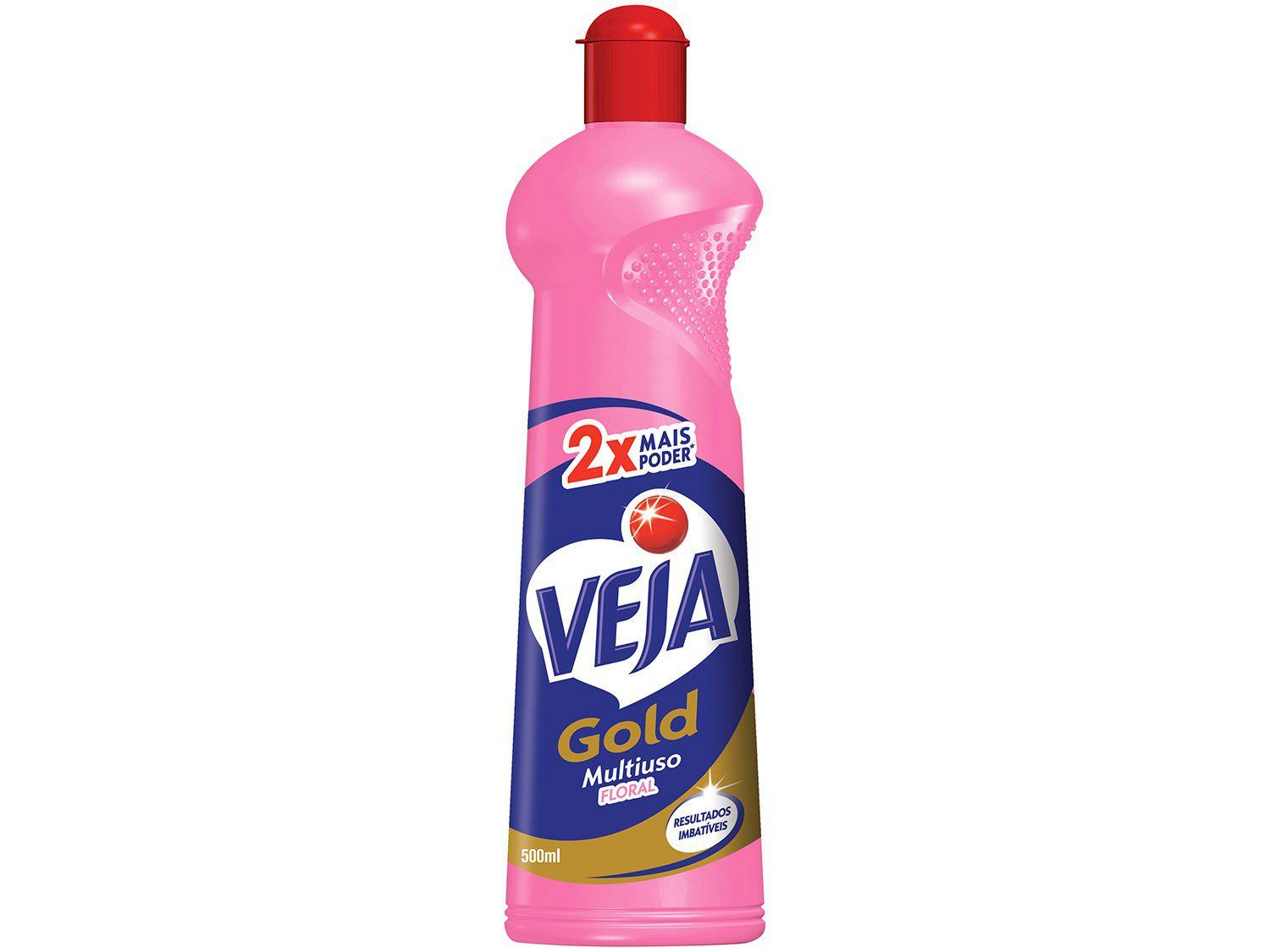 Veja Gold Multiuso Floral Squeeze - 500ml
