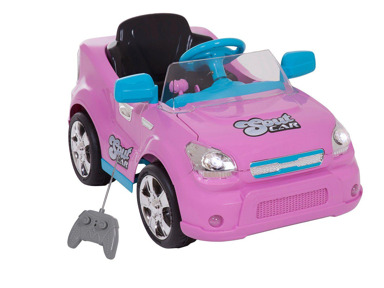Carro Elétrico Infantil Soutcar - com Controle Remoto Emite Sons 6V Xplast