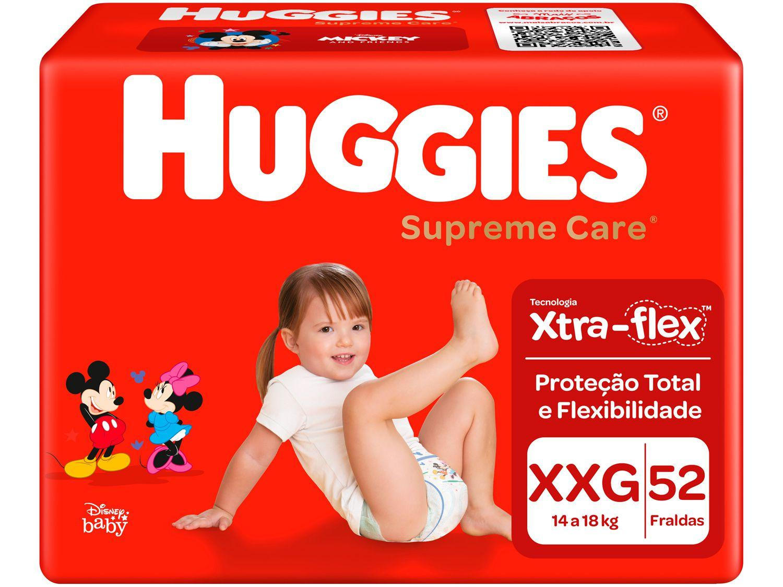 Fralda Huggies Supreme Care - Tam. XXG 14 a 18kg 52 Unidades
