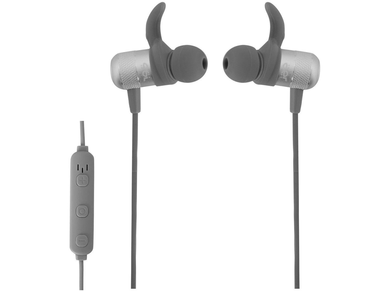 Fone de Ouvido Bluetooth Geonav Intra Auricular - com Microfone Esportivo Cinza AER Move