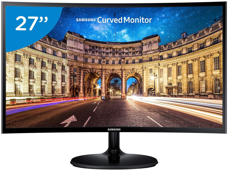 "Monitor para PC Full HD Samsung LED Curvo 27"" - C27F390F"