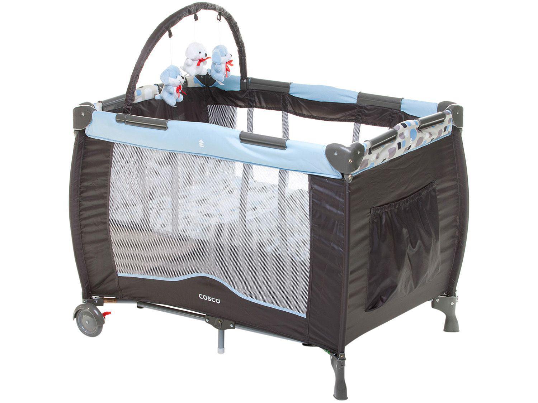 Berço Portátil Cosco Toybar Desmontável - 2 Níveis de Altura para Crianças até 15Kg
