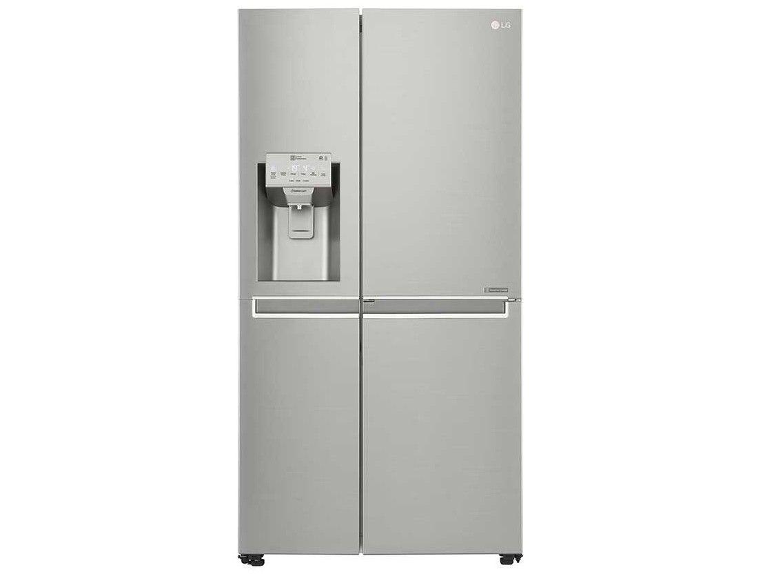 Geladeira/Refrigerador Smart LG Side by Side - Inverter 601L Door-in-Door e LG ThinQ GS65SDN Inox