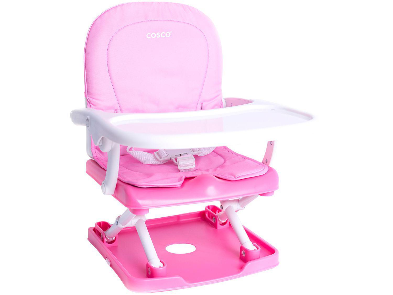 Cadeira de Alimentação Portátil Pop Cosco - 3 Posições de Altura para Crianças até 15kg