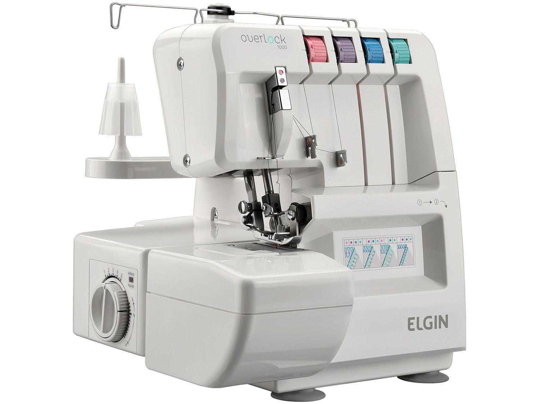 Máquina de Costura Elgin Overlock 1000 - Eletrônica