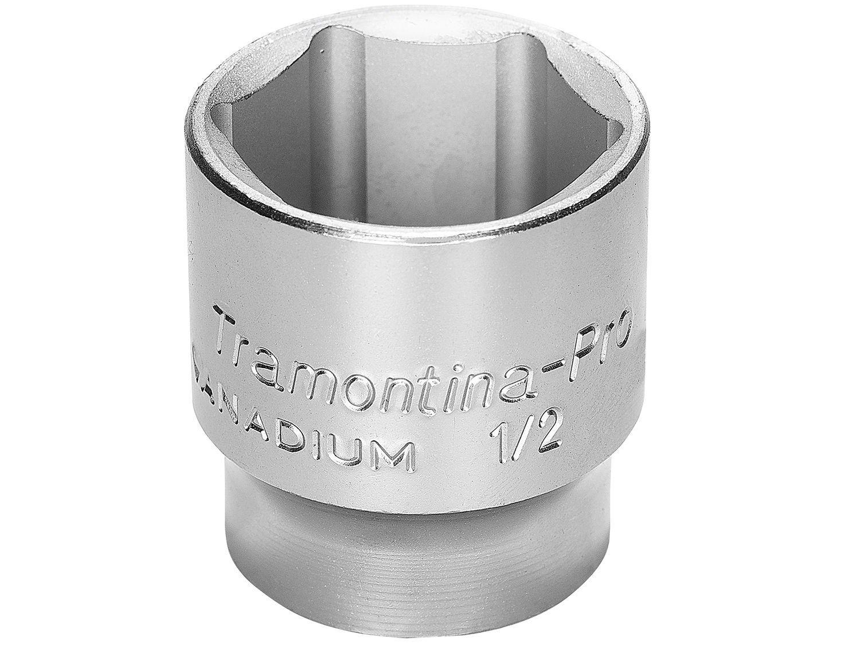 "Soquete Sextavado 1/2"" 11mm Tramontina - PRO 44831111"