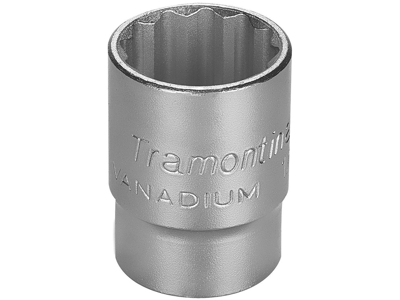 """Soquete Estriado 1/2"""" 23mm Tramontina - PRO 44833123"""