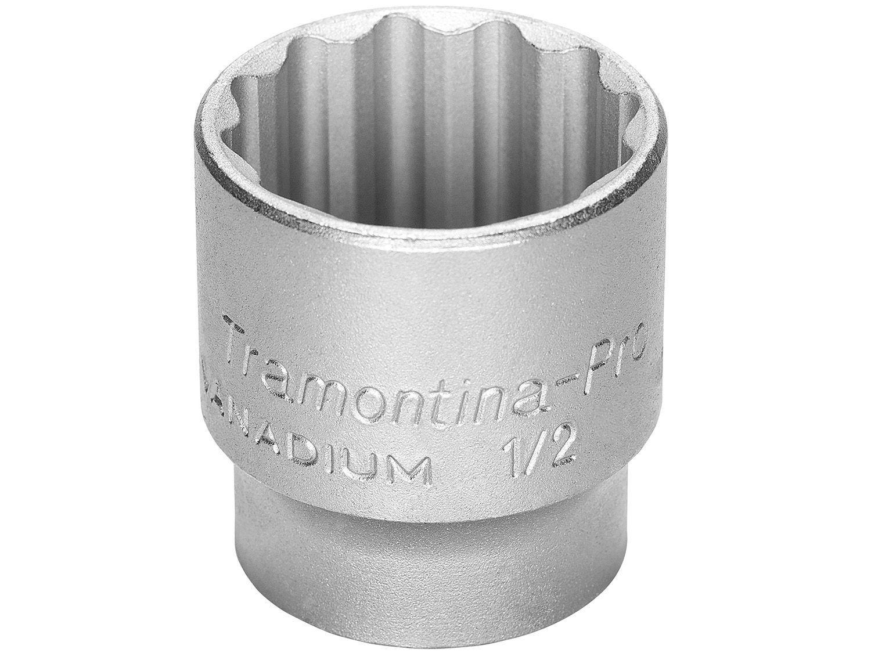 """Soquete Estriado 1/2"""" 27mm Tramontina - PRO 44833127"""