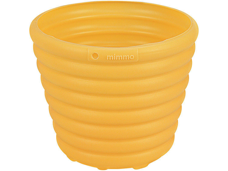 Cachepô/Vaso para Plantas 1,7L 16,2x13,5x16,2cm - Tramontina Sweet Garden Mimmo Amarelo