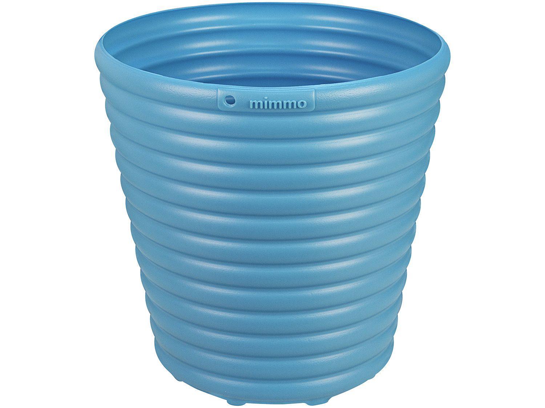 Cachepô/Vaso para Plantas 5,5 22,3x22x22,3cm - Tramontina Sweet Garden Mimmo Azul