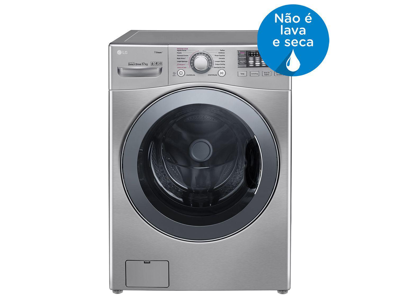 Lavadora de Roupas LG WM17VVS6 17Kg - Água Quente Função TurboWash