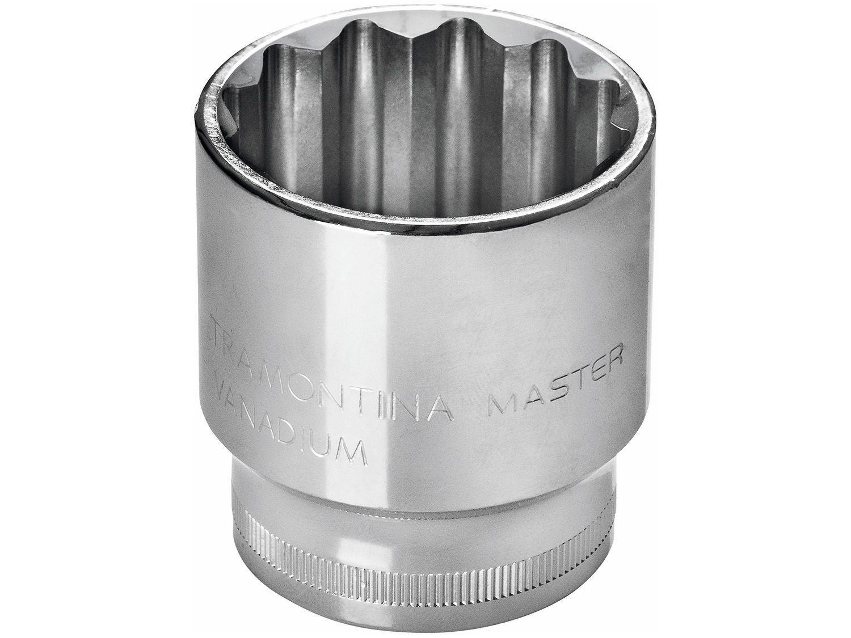 "Soquete Estriado 1/2"" 8mm Tramontina - Master 43601108"