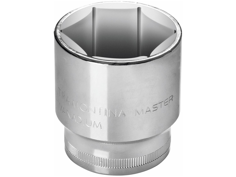 "Soquete Estriado 1/2"" 19mm Tramontina - Master 43603119"
