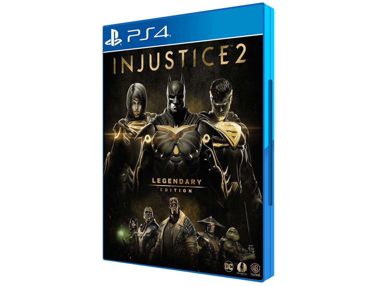 Injustice 2 Legendary Edition para PS4 - Warner