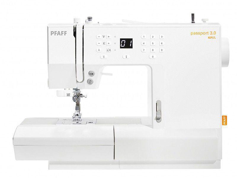 Máquina de Costura Pfaff Passport 3.0 Eletrônica - 100 Pontos