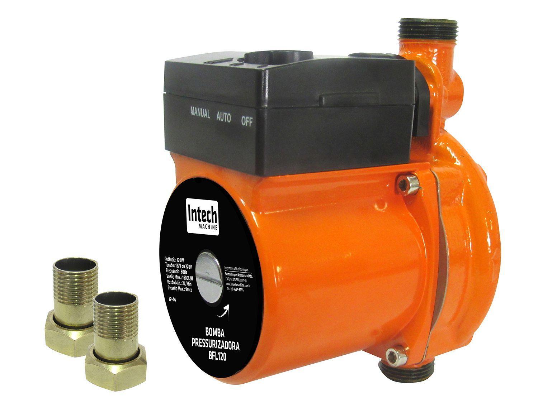Bomba de Água Elétrica Pressurizadora - Intech Machine 120W 1600L/min Pump BFL120