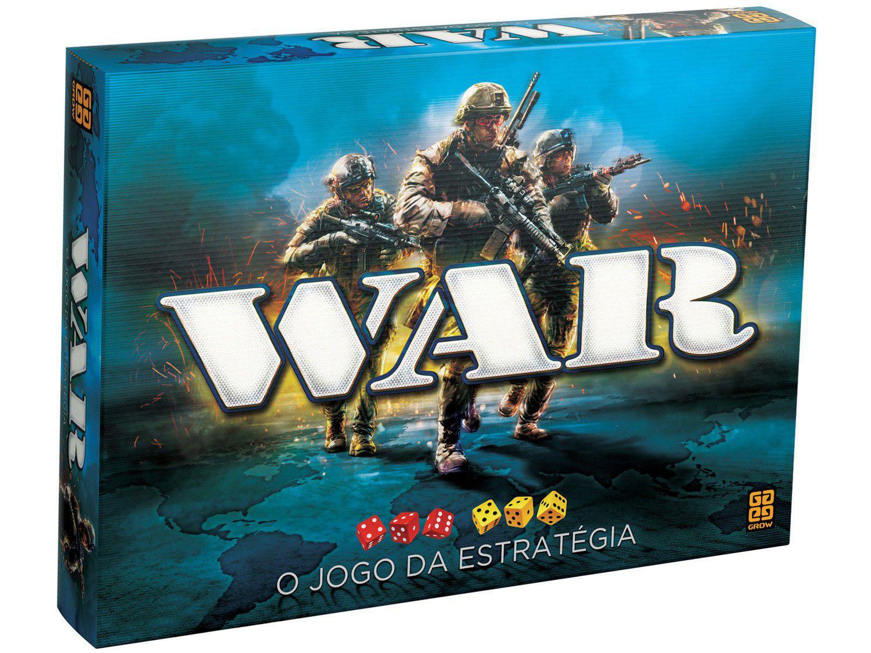 Jogo War Tabuleiro O Jogo da Estratégia - Grow