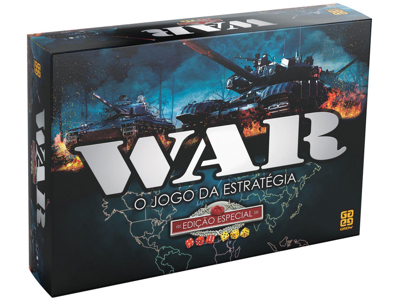 Jogo War Tabuleiro O Jogo da Estratégia - War Edição Especial Grow