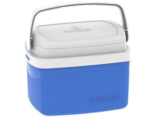 Caixa Térmica Soprano 5L Tropical - Azul