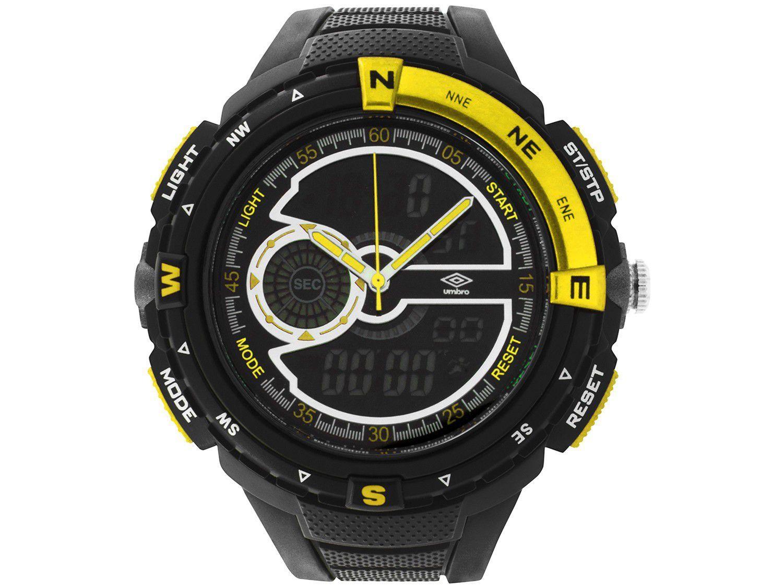 Relógio Unissex Umbro Anadigi - UMB-060-4 Preto