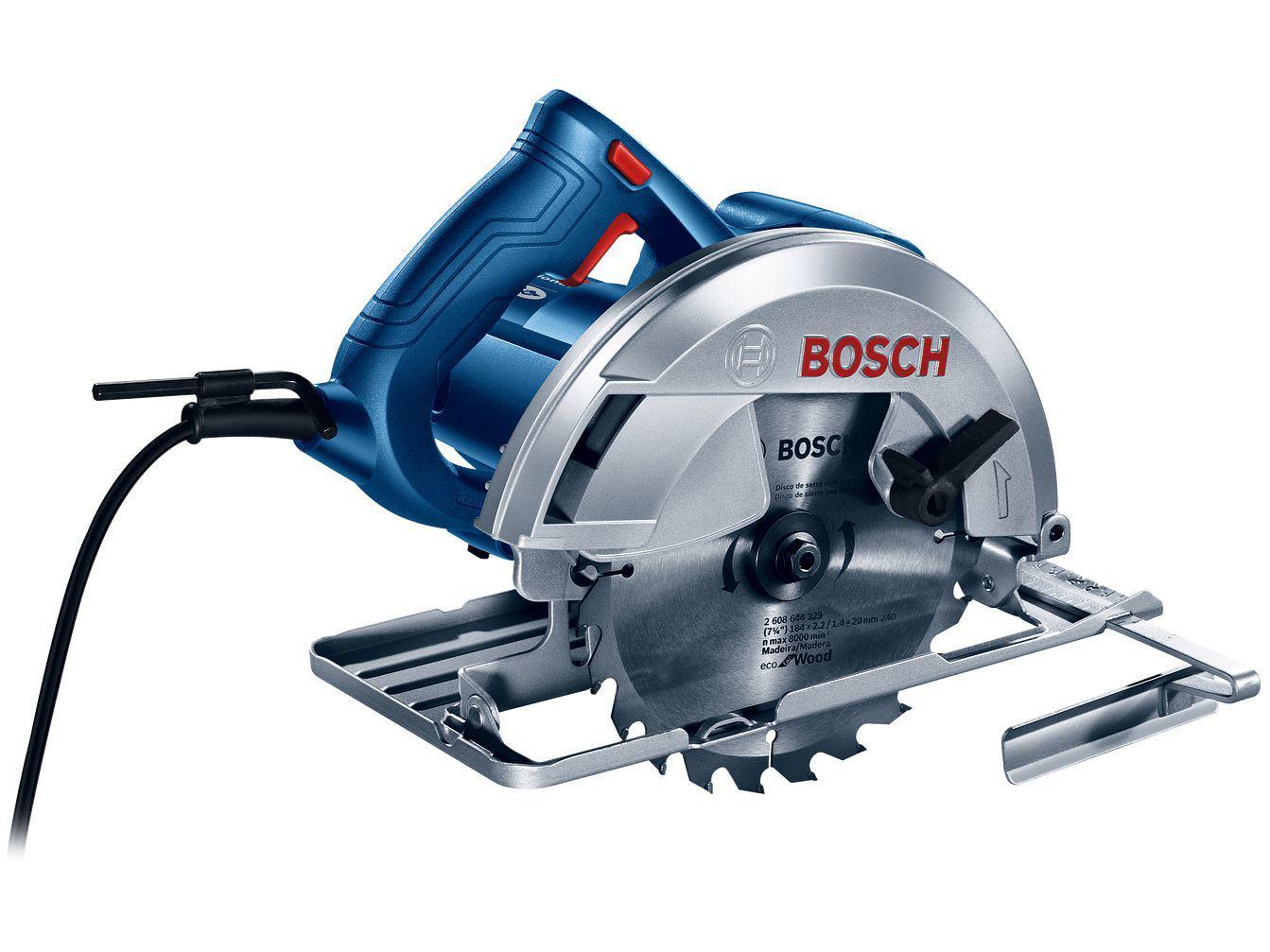 Serra Circular Bosch GKS 150 184mm 1500W - 6000RPM 5 Peças