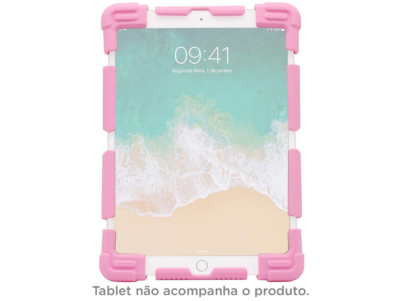 "Capa para Tablet Universal 9"" até 12"" Rosa - Kids Geonav"
