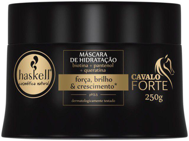 Máscara para Cabelo Hidratante Haskell - Cavalo Forte Força, Brilho & Crescimento 250g