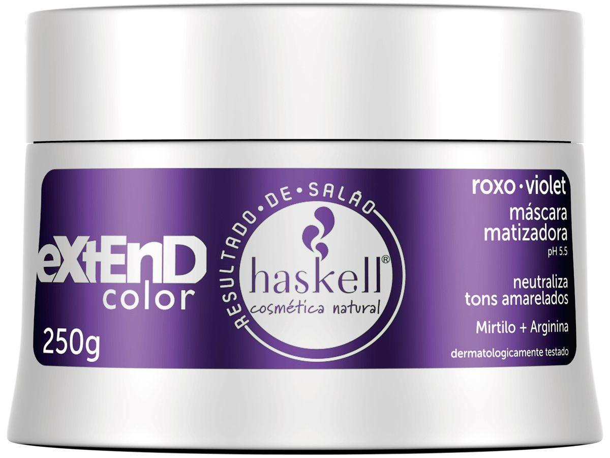 Máscara Matizadora Haskell - Extend Color 250g