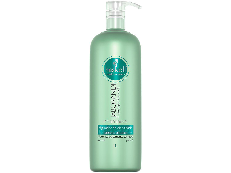 Shampoo Haskell Profissional Jaborandi - Regulador de Oleosidade 1L