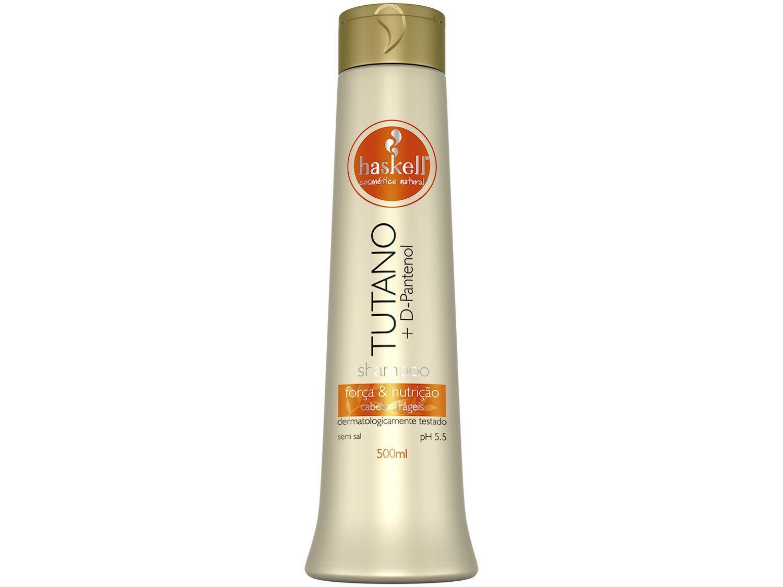 Shampoo Haskell Profissional Tutano - Força & Nutrição 500ml