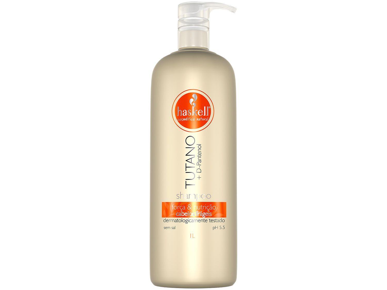 Shampoo Haskell Profissional Tutano - Força & Nutrição 1L