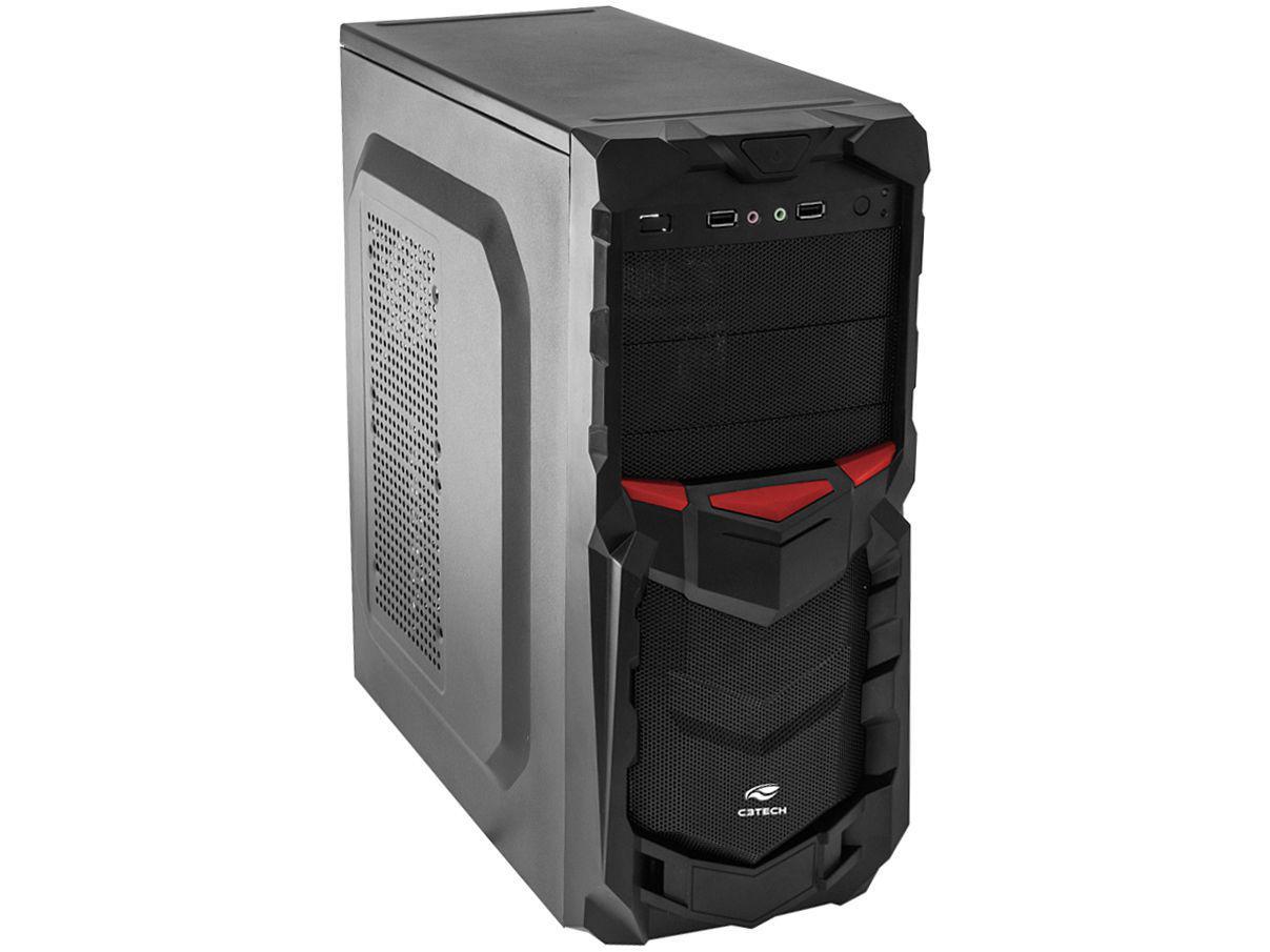 Gabinete para PC MT-G50BK C3TECH Sem Fonte - 6 Baias